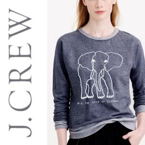 J. Crew Garments For Good Elephants Sweatshirt XS